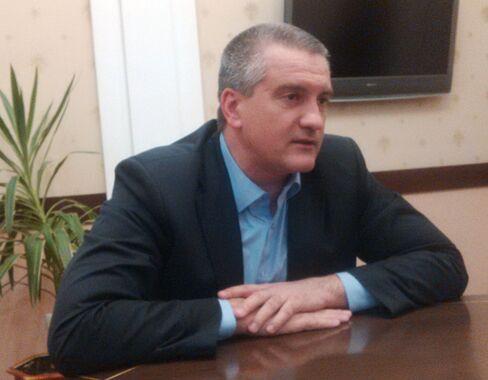Crimea's Prime Minister Sergei Aksenov
