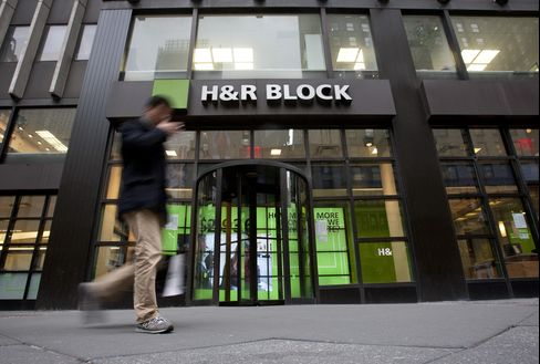 H&R Block Seen Inviting Buyout by Removal of Bank Unit
