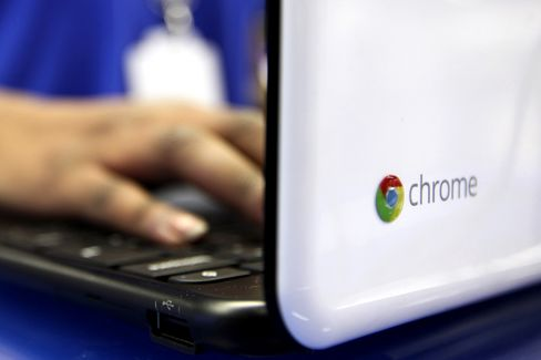 Google Chromebook Under $300 Defies PC Market With Growth