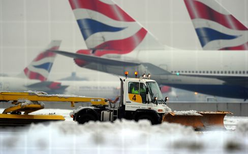 European Airlines Struggle to Add Flights as Snowfalls Ease