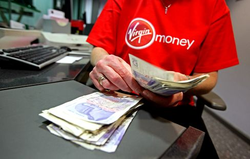Branson Virgin Money With Ross Seen Disrupting U.K. Retail Banks