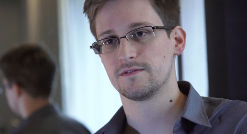 National-Security Contractor Edward Snowden
