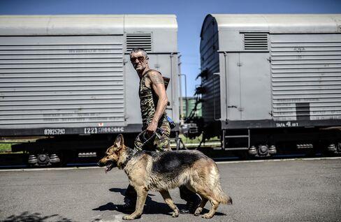 Armed Separatist in Ukraine