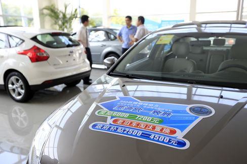 Ford Dealership in China