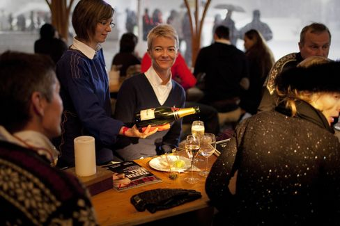 Super-Rich Play Snow Polo as Agitators Heckle Davos Elite