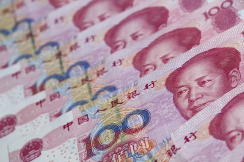 Selling Yuan Advised by Deutsche Bank to Barclays as Flows Ebb