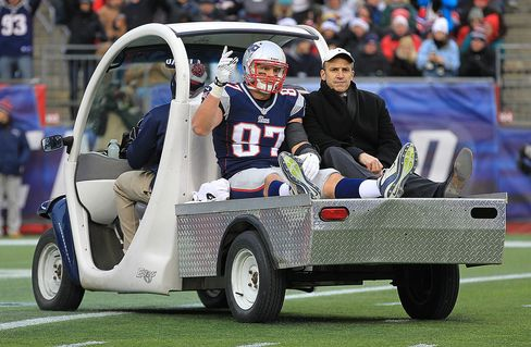 Patriots Player Rob Gronkowski