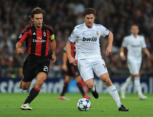 Real Madrid Beats AC Milan in Champions League