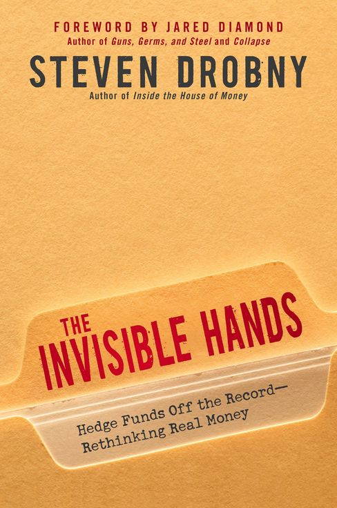 The book jacket for ''The Invisible Hands