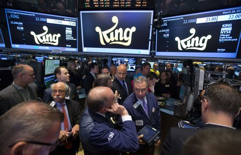 Traders Wait for Trading to Start at the New York Stock Exchange