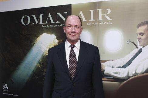 Oman Air Chief Executive Officer Wayne Pearce