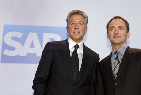 SAP Second-Quarter Net Income Advances 13% on Software Demand