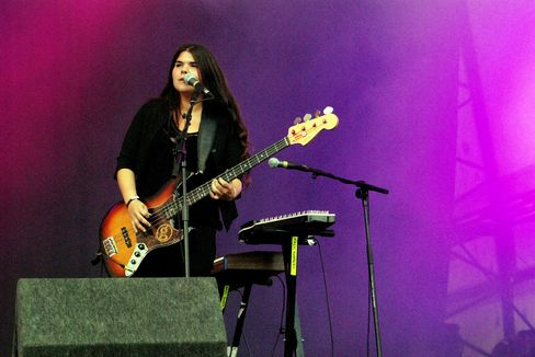 Michele Stodart of the Magic Numbers