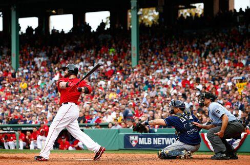 Red Sox Player Jonny Gomes