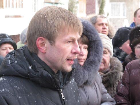Yaroslavl Mayor Yevgeny Urlashov