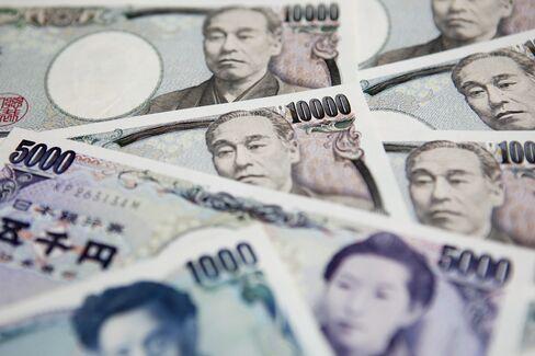 Bernanke Strikes First Yen Blow as Yield Gap Rises