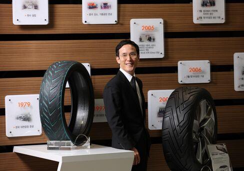 Hankook Tire President Cho Hyun Bum