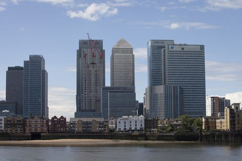 Canary Wharf Tower Redesigned for Non-Bankers Wins Approval