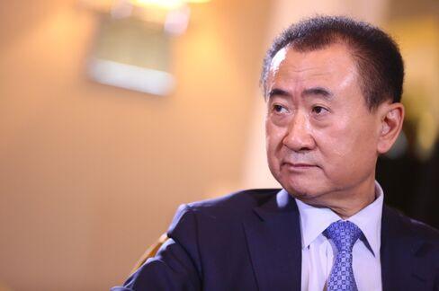 Wanda Group chairman Wang Jianlin.