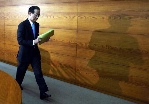 Bank of Japan Governor Masaaki Shirakawa