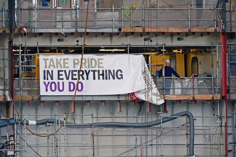 BAE Govan Shipyard in Glasgow