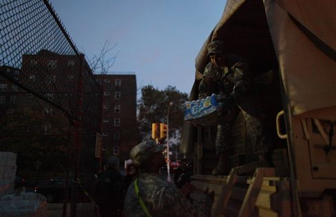 U.S. Sends Marines as NYC Struggles With Blackouts, Gas Lines