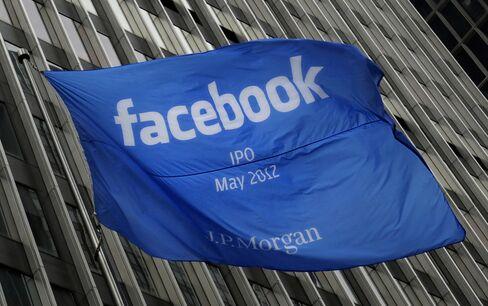 Facebook Overvalued at $96 Billion in Global Survey of Investors