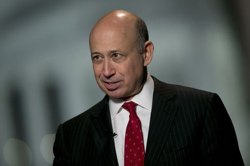 Goldman Sachs Group Inc. Chief Executive Officer Lloyd Blankfein