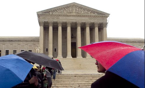 Health Care Case 'Up for Grabs', U.S. High Court Clash Looms