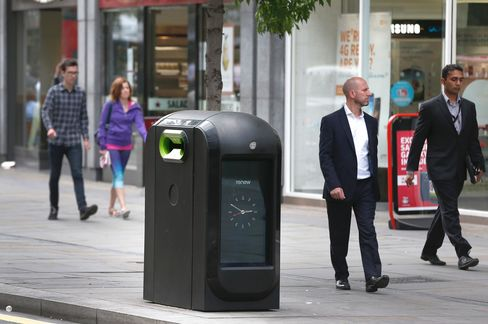 Snooping Garbage Bins in City of London Ordered to Be Disabled