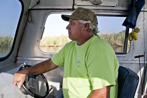 Crab Fisherman Claude Luke
