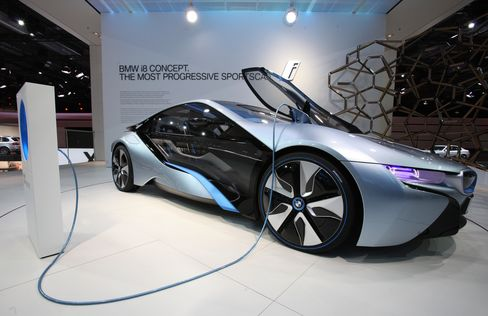 BMW Sells Electric Cars Online to Recoup Research Billions