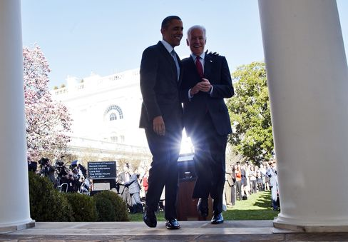 U.S. President Barack Obama & VP Joe Biden