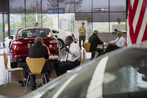America Autos Surge in First Market Share Gain in 20 Years
