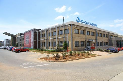 The Headquarters of Adcock Ingram Holdings Ltd. Stand in Midrand