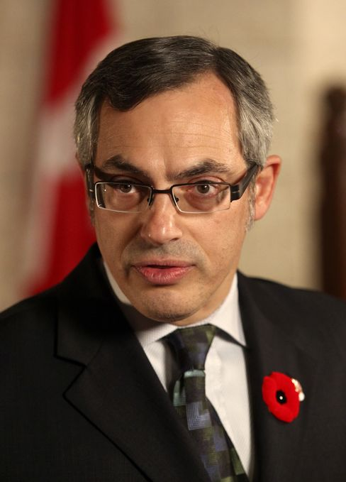 Tony Clement, Canada's industry minister