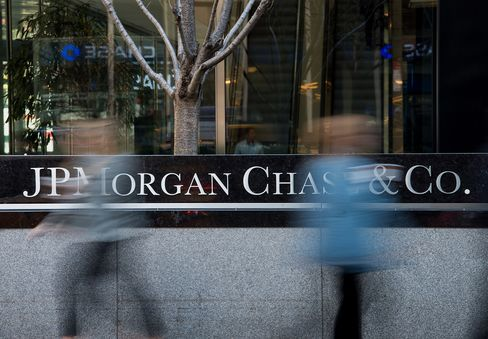 JPMorgan Chase & Co. Headquarters Ahead of Earnings
