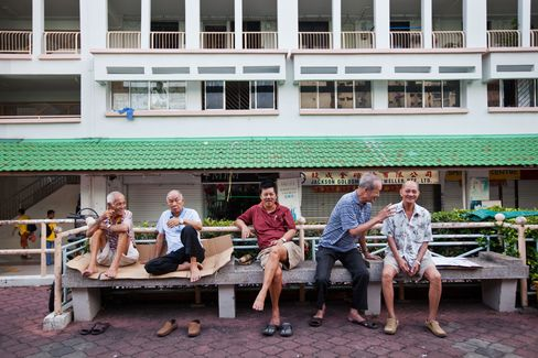 Lee Rues Singapore as Retirement Home Unless Birthrate Rises