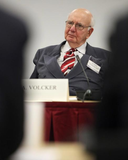 Volcker Named to Panel on Too-Big-to-Fail