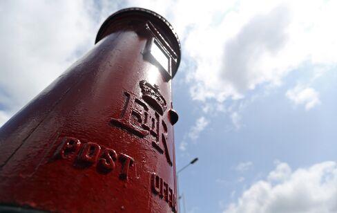 U.K. Said to Start IPO for 3 Billion-Pound Royal Mail Next Month