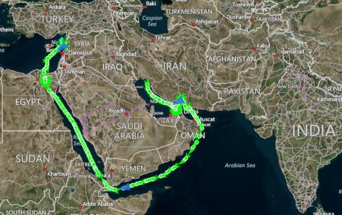 How Iranian Oil Tankers Keep Syria's War Machine Alive