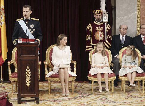 Spain's King Felipe VI