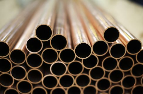 Copper Heads for Record Weekly Gain