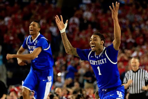 Kentucky Beats Wisconsin