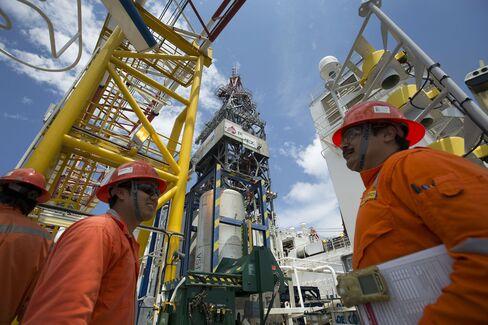 Pemex Deep Sea Oil Platform