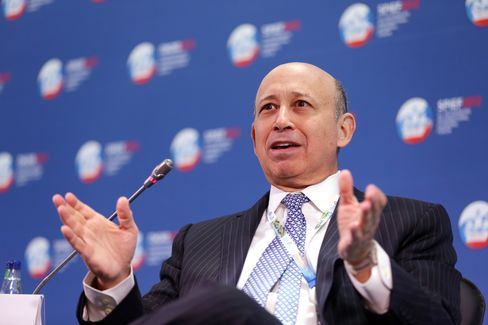Goldman Sachs Group Inc. CEO Lloyd Blankfein