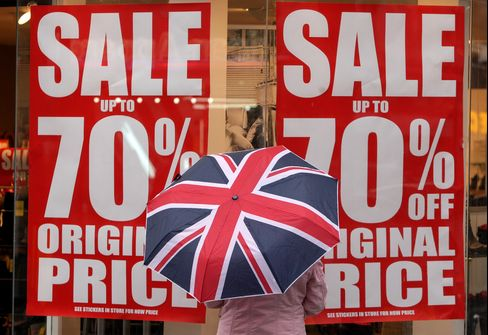 U.K. Stores Suffer Soggy Summer as Umbrella Sales Soar: Retail