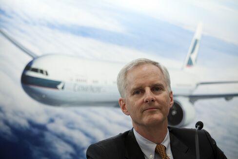 Cathay Pacific Airways CEO Slosar