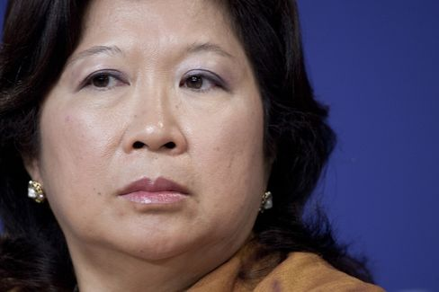 Indonesia's Minister of Tourism Mari Pangestu