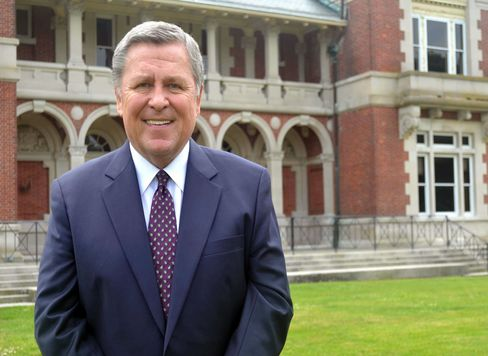 Dowling College President Norman Smith